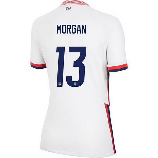 2020/21 USA Home Alex Morgan Women's 4-Star Jersey