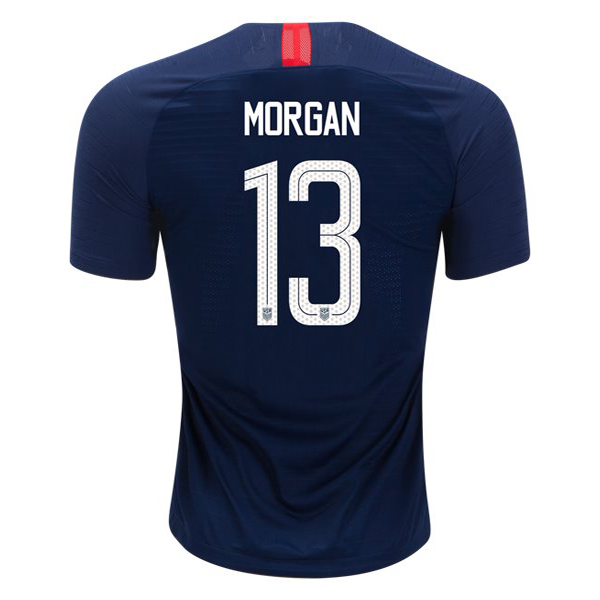 2018/19 USA Away Alex Morgan Replica Men's Soccer Jersey (#13)