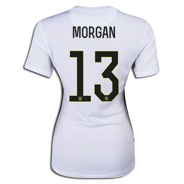 2015/16 Alex Morgan Home #13 Women's 3-Star Soccer Jersey USA