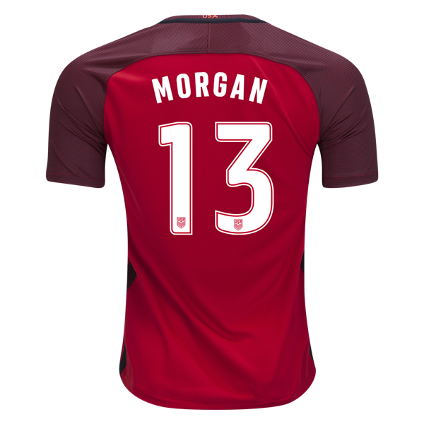 2017/18 USA Third Alex Morgan Replica Men's Soccer Jersey (#13)