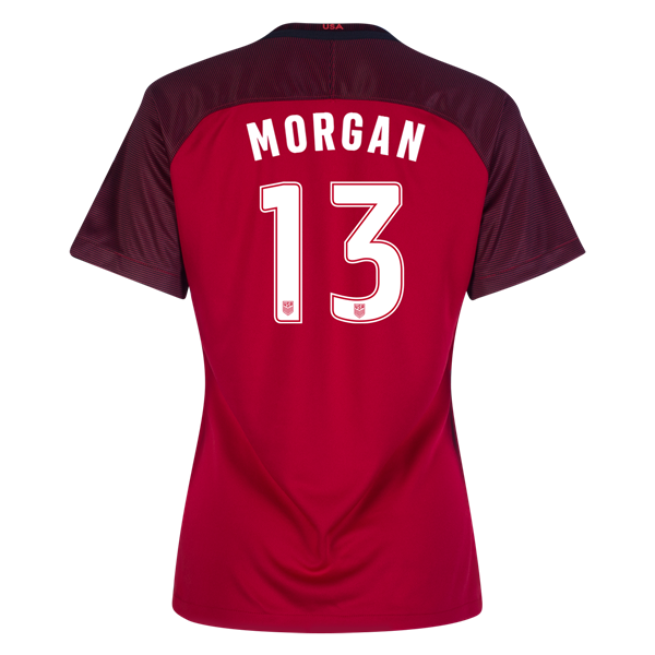 2017/18 USA Third Alex Morgan Women's 3-Star Soccer Jersey (#13)